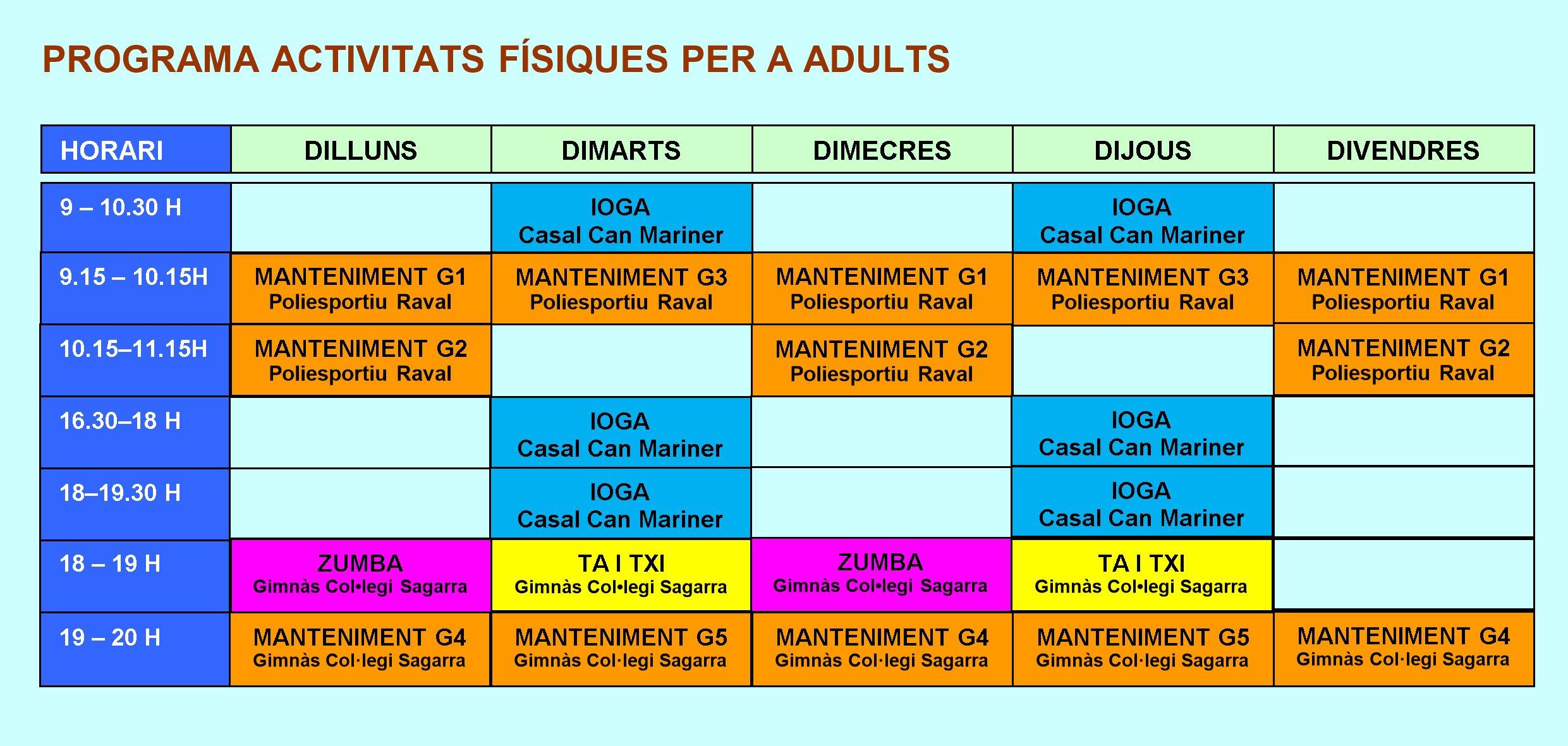 horarios 19-20
